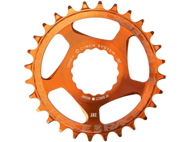 Race Face DM Cinch Plateau 10/11/12 vitesses, orange